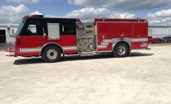 former Stone Park fire engine for sale