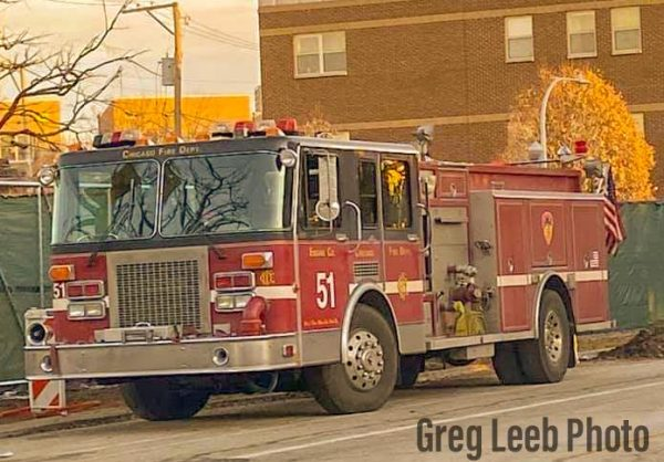 new fire engine for Chicago Fire TV show