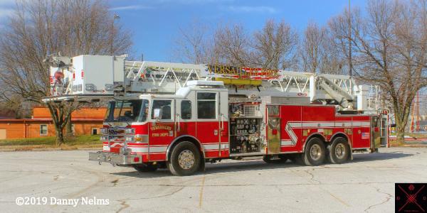 former Mundelein FD fire truck