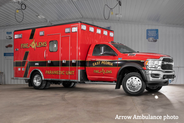 2019 Ram 5500 Type I ambulance