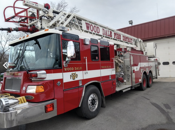 Wood Dale FPD fire truck for sale