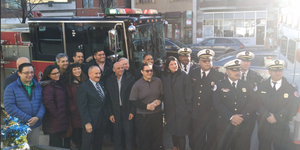 Chicago FD donates fire engine and ambulance to Puerto Rico