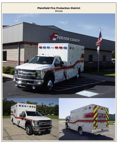 New ambulance for the Plainfield FPD