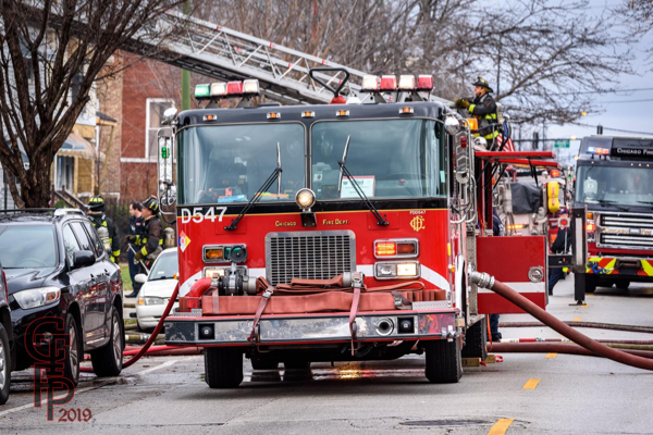 Chicago FD spare engine