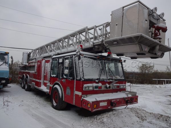 old Chicago fire truck for sale by auction