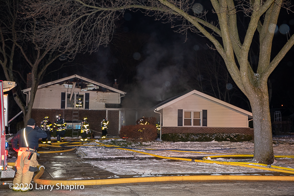 House fire in Arlington Heights 1/14/20