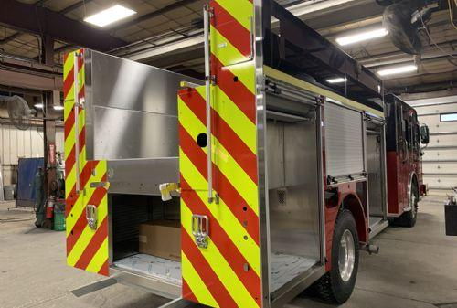 Spartan chassis fire engine