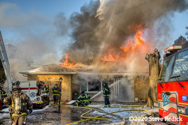 house fire in Lincolnwood IL