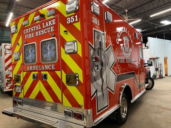 Crystal Lake Fire Rescue Ambulane 351