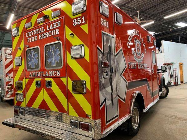 Crystal Lake Fire Rescue Ambulane 351