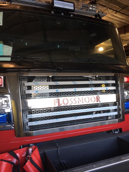 new fire truck for the Flossmoor FD