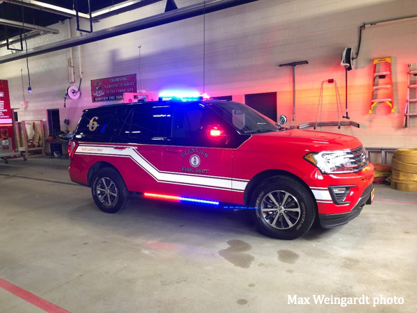 2019 Ford Expedition for a fire chief