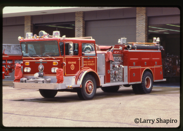 American LaFrance Pioneer Series fire engine