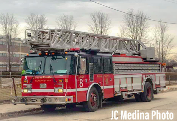 E-ONE Hurricane 100-foot aerial ladder truck