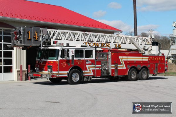 former Tri-State FPD fire truck