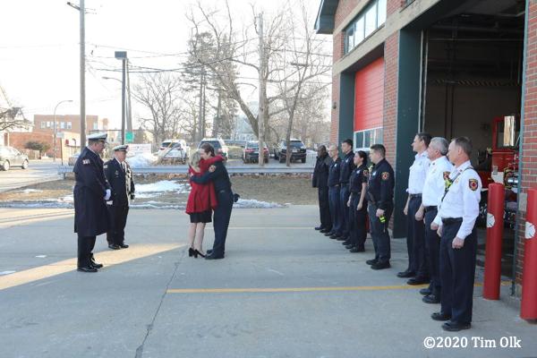 Evanston Fire Department Funeral For Chaplin David Jones