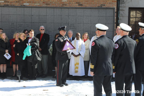Evanston Fire Department Funeral For Chaplin David Jones