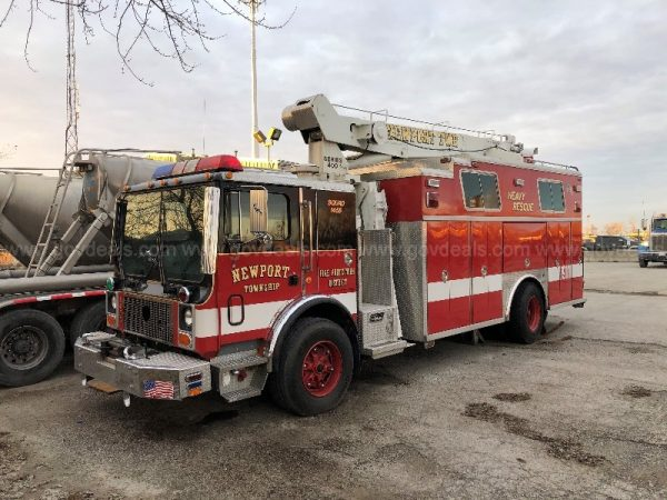former Lutherville VFC squad for sale