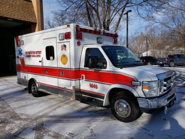 2008 Ford E-0350 Medtec ambulance for sale