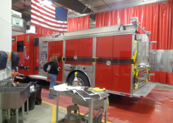 New Sutphen fire engine for the Bloomingdale FPD
