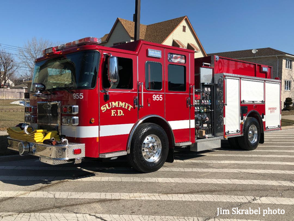 2019 Pierce Saber fire engine
