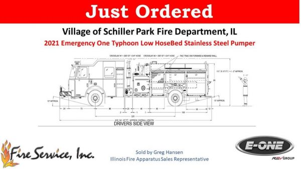 Schiller Park FD orders new fire engine