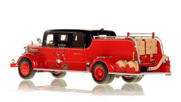 Fire Replicas Chicago FD Mack L sedan pumper
