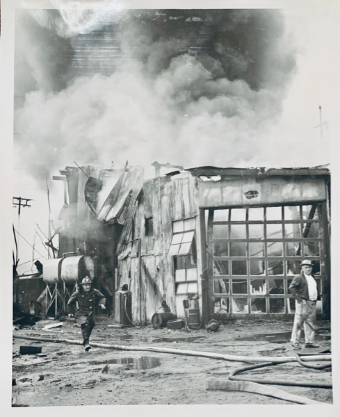 vintage fire photo from Cicero