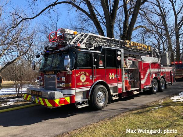 Pierce Arrow XT fire truck
