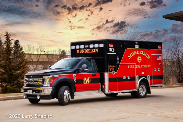 Ford F550/Horton Type I ambulance