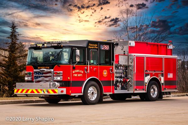 2017 Pierce Enforcer fire engine