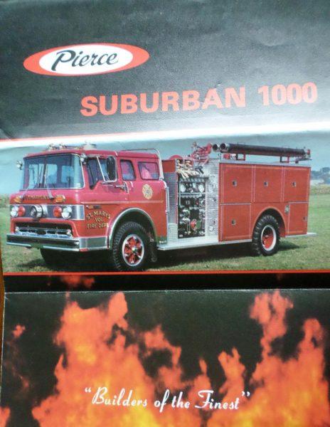 Pierce Suburban 1000