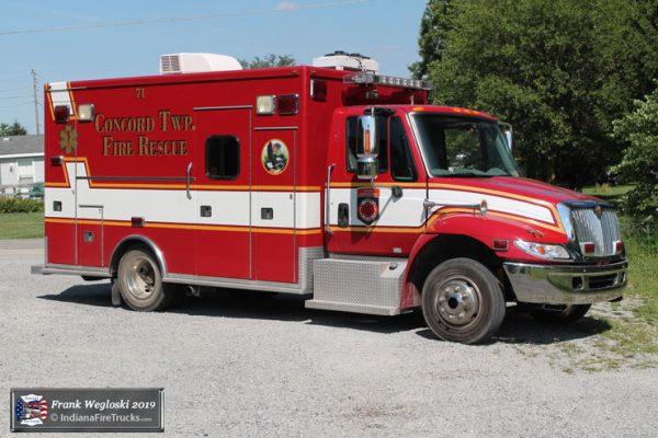 former Bedford Park FD ambulance