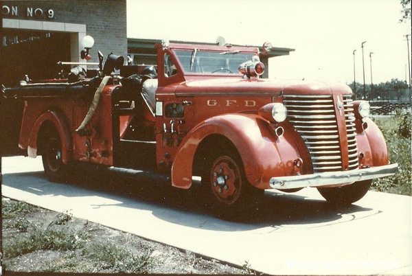Gary Fire Department history Engine 9