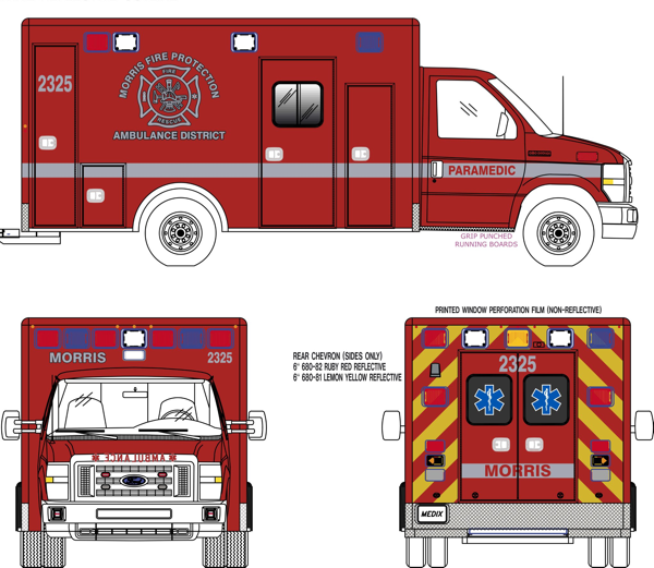 Medic Type III ambulance