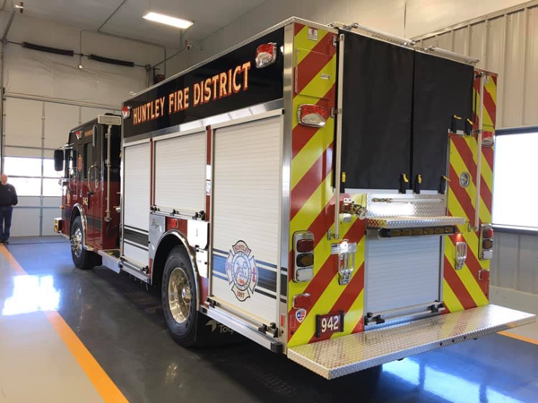 Spartan/Toyne fire engine for the Huntley FPD