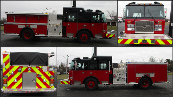new Chicago fire engine