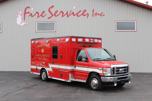 2019 Wheeled Coach Type 3 Ambulance