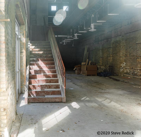 interior of old Chicago firehouse