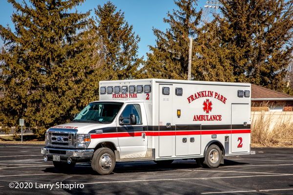 Ford E450/Medix Type III ambulance