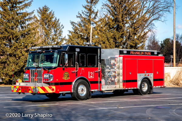 Spartan Metro Star Marion fire engine