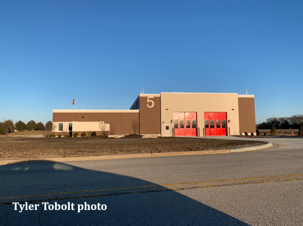 new Huntley FPD fire station