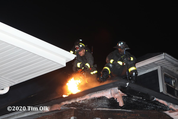 Chicago Firefighters at work