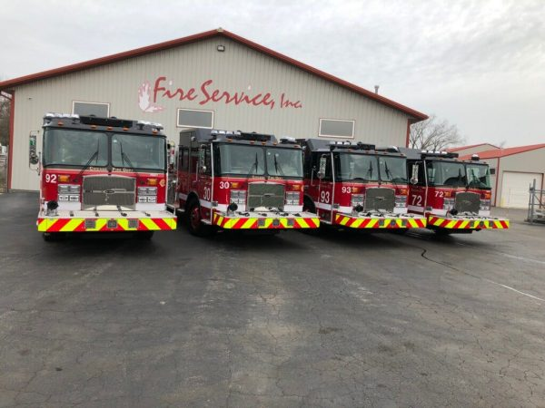 new fire engines for Chicago