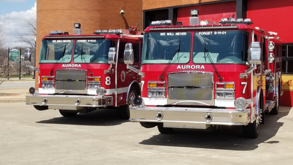 E-ONE Typhoon fire engines