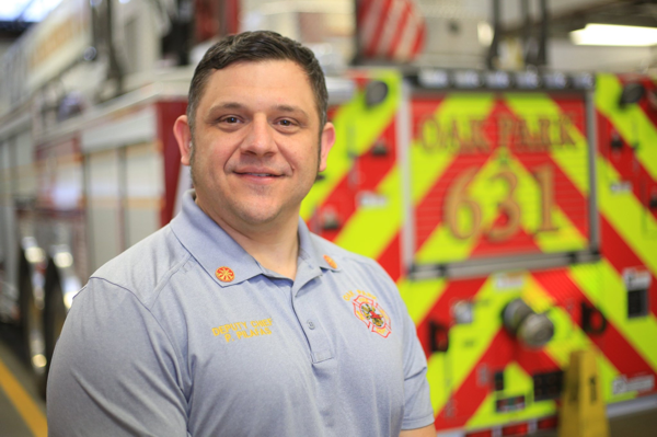 Oak Park FD Deputy Chief Pete Pilafas