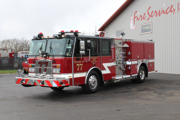 2019 E-ONE Cyclone pumper