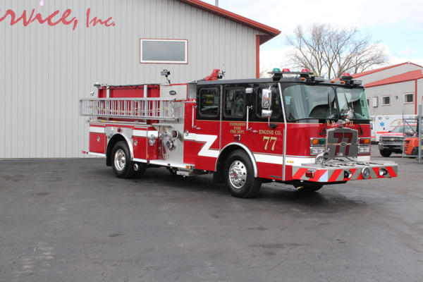 2019 E-ONE Cyclone fire engine