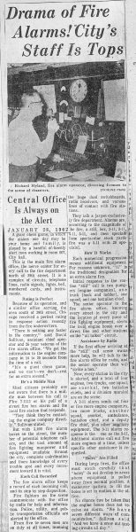 vintage news clipping from the Chicago Tribune January 28, 1962