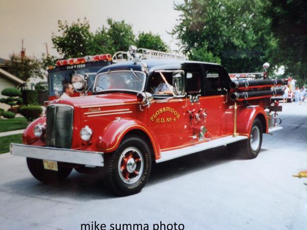 Flossmoor Fire Department history